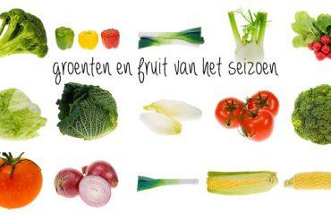 groenten en fruit van het seizoen
