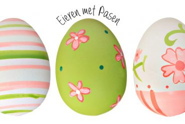 eieren met pasen