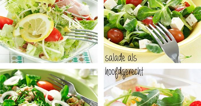 salade als hoofdgerecht