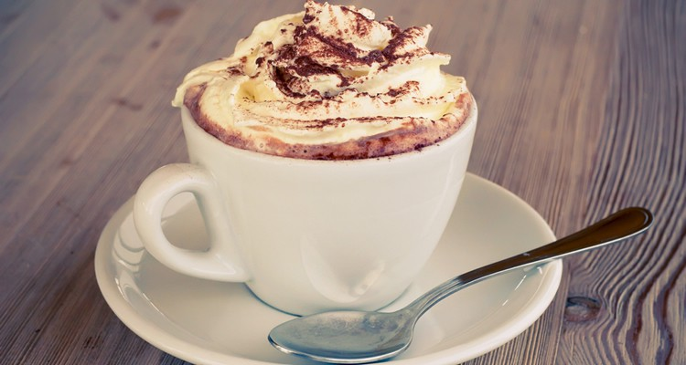 Hot Chocolate With Squirty Cream