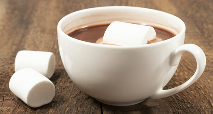 warme chocolade met mint