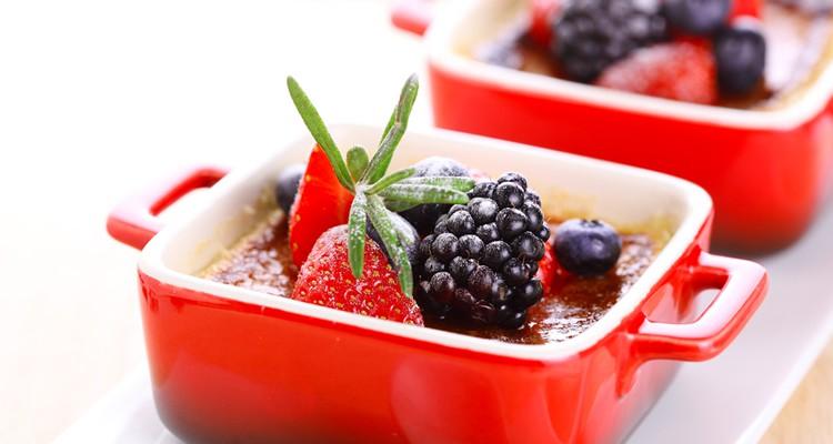 Creme brulee twee recepten kook rubriek for Nep fruit waar te koop