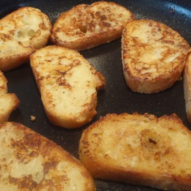 stokbrood wentelteefjes