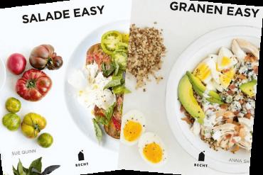 easy salade en easy granen