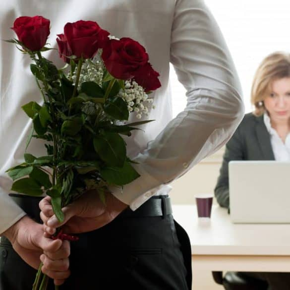 verliefd op een collega