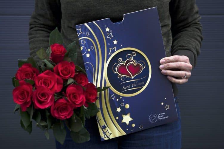 ster voor valentijn