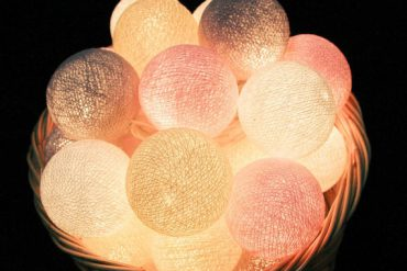 cotton balls lights