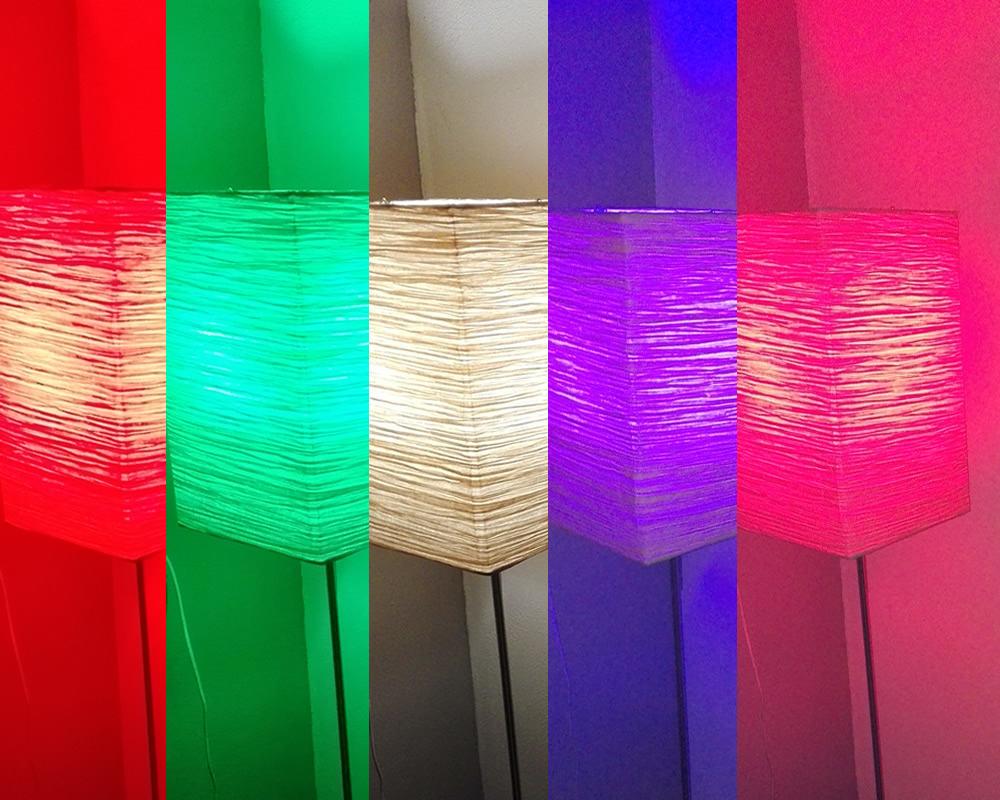 Kleur en sfeer met de idual led lamp lifestyle rubriek - Kleur sfeer ...