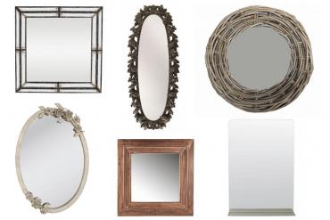spiegels in interieur
