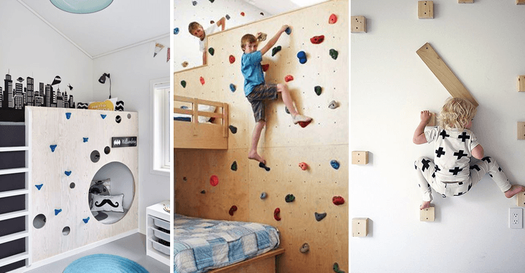5 x inspiratie voor een muur in de kinderkamer mama rubriek - Kamer originele kind ...