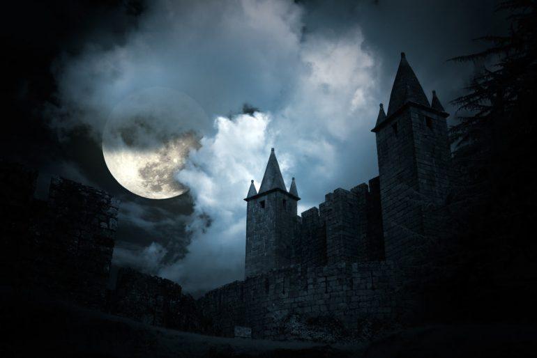 daterend kasteel Douglas