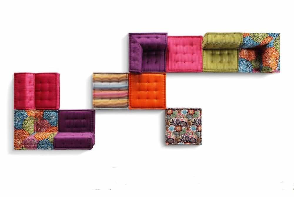 Mah jong sofa lifestyle rubriek - Chauffeuse roche bobois ...