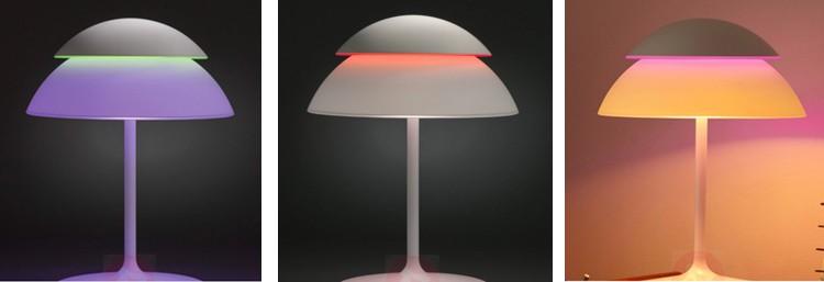 lamp die van kleur verandert