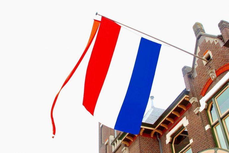 vlag uit