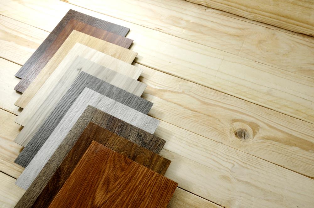 kleuren hout