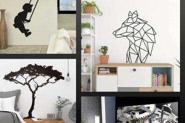 muurstickers woonkamer