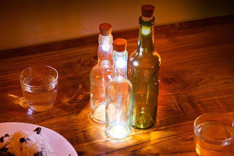 bottlelight als sfeerverlichting