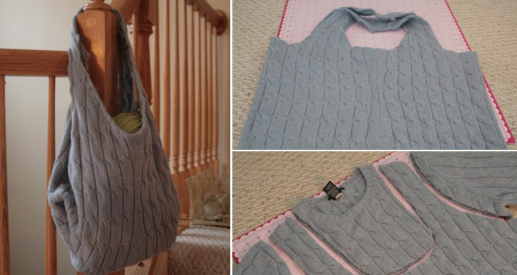 tas van oude trui maken