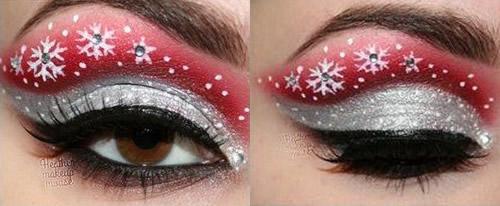 kerst oogschaduw