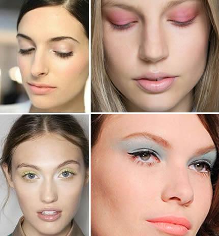 make-up trends lente voorjaar 2014