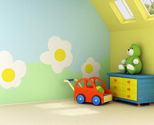 Muur Ideeën Kinderkamer : Ideeën voor de muur van een kinderkamer ...