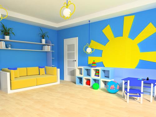 Muur Schilderen Ideeen : Ideeën voor de muur van een kinderkamer mama ...