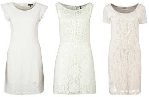 witte jurken 2014