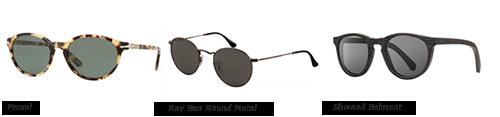voorbeeld zonnebrillen