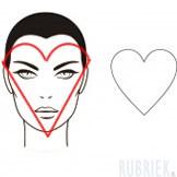 hartvormig gezicht