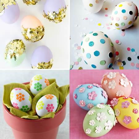 beplakte eieren