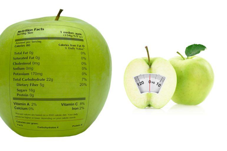 calorieen fruit
