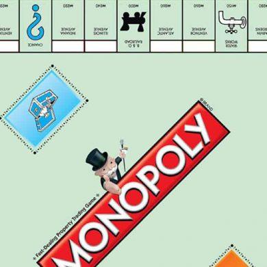 wereld monopoly dag