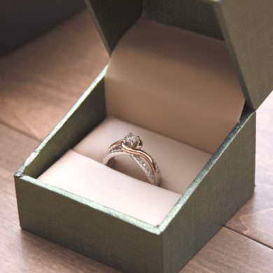 diamanten ring