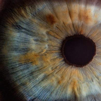oog beeldscherm